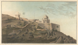The Pir Masjid near the Dolphin's Nose at Vizagapatam. 24 June 1815
